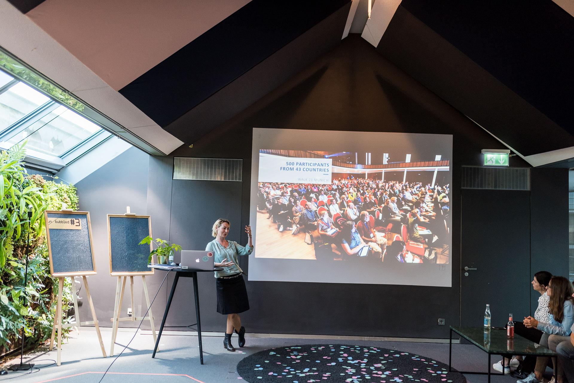 unbubbled Session #3 - mobilität der Zukunft wie bewegt sich München ZIBERT + FRIENDS
