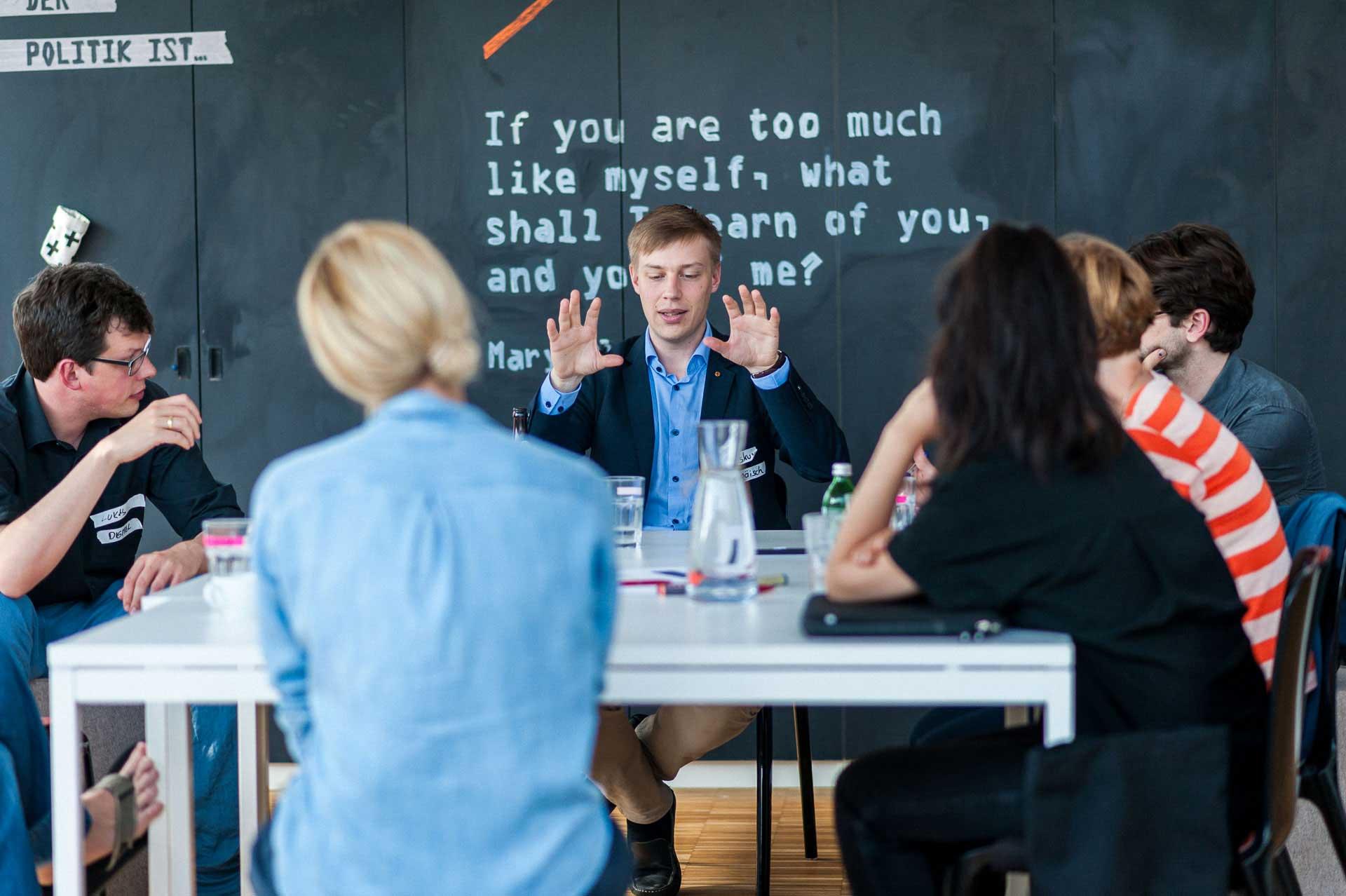 unbubbled Session #1 Was muss sich ändern, dass Politik auf dauer sexy sein kann? ZIBERT + FRIENDS